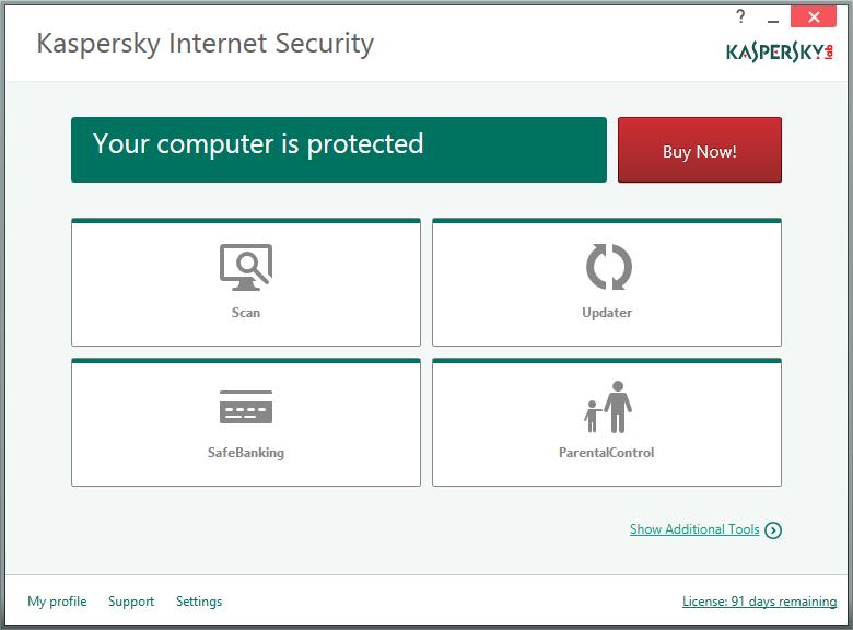 دانلود نرم افزار Kaspersky Internet Security اینترنت سکوریتی کسپرسکی