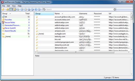 دانلود نرم افزار مدیریت پسوردهای اینترنتی LastPass