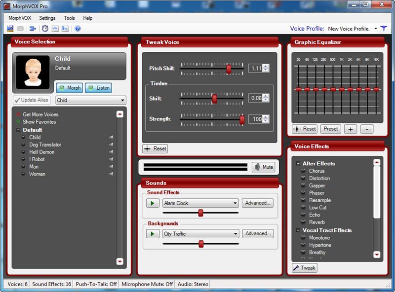 دانلود نرم افزار تغییر صدا در محیط های بازی MorphVox Pro 4.4.17