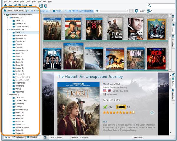 دانلود نرم افزار آرشیو فیلم Movie Collector Cobalt Pro