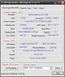 دانلود نرم افزار GPU Caps Viewer بررسی حرفه ای کارت گرافیک