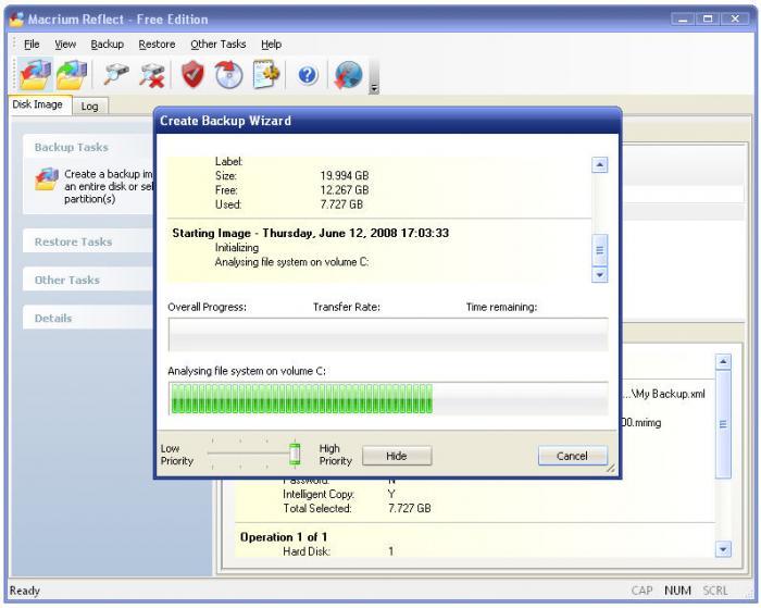 دانلود نرم افزار Macrium Reflect ساخت و بازیابی ایمیج از هارد دیسک