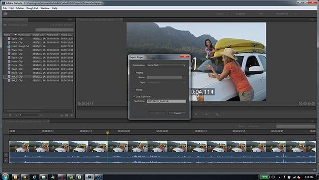 Adobe Prelude CC 4 1 0مدیریت و سازماندهی فیلم ها - 41