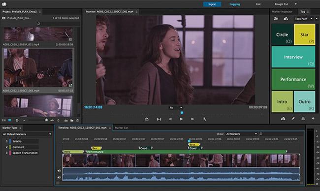 Adobe Prelude CC 4 1 0مدیریت و سازماندهی فیلم ها - 17