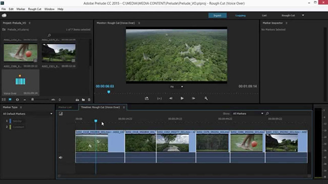 Adobe Prelude CC 4 1 0مدیریت و سازماندهی فیلم ها - 90