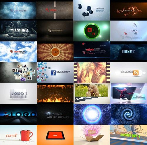 دانلود قالب Videoblocks After Effects Template Crazy Bundle افترافکت