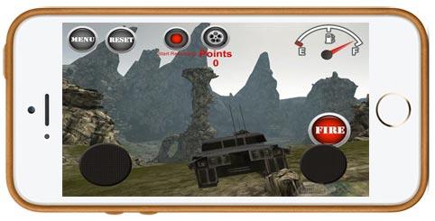 دانلود بازی Armored Tank: Assault 2 برای آیفون آیپد و آیپاد لمسی