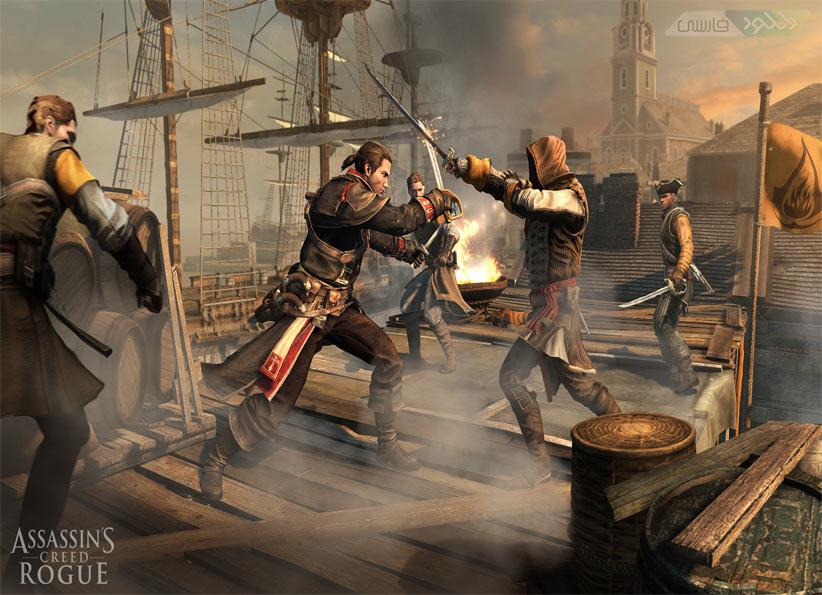 دانلود بازی Assassins Creed Rogue برای Xbox360 و PS3