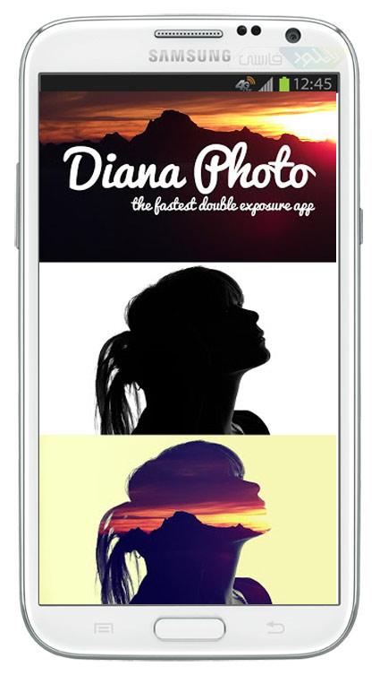 دانلود آخرین نسخه نرم افزار Diana Photo برای آیفون,آیپد,آیپاد لمسی