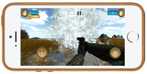 دانلود بازی Duck Hunter Pro 3D شکارچی مرغابی برای آیفون آیپد و آیپاد