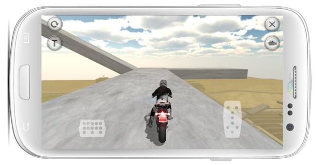 دانلود بازی Fast Motorcycle Driver موتورسوار تیزرو برای اندروید