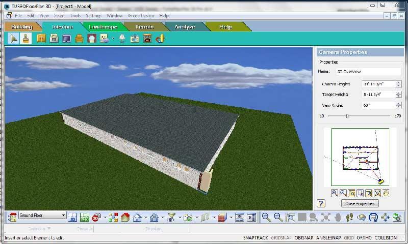 دانلود آخرین نسخه نرم افزار IMSI Turbo Floor Plan 3D طراحی خانه