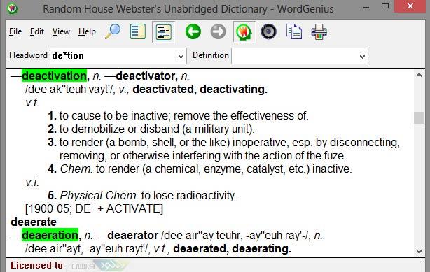 دانلود دیکشنری Random House Websters Unabridged Dictionary