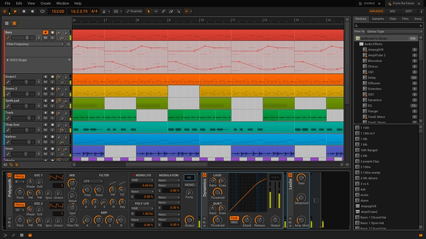 دانلود نرم افزار Bitwig Studio آهنگسازی حرفه ای