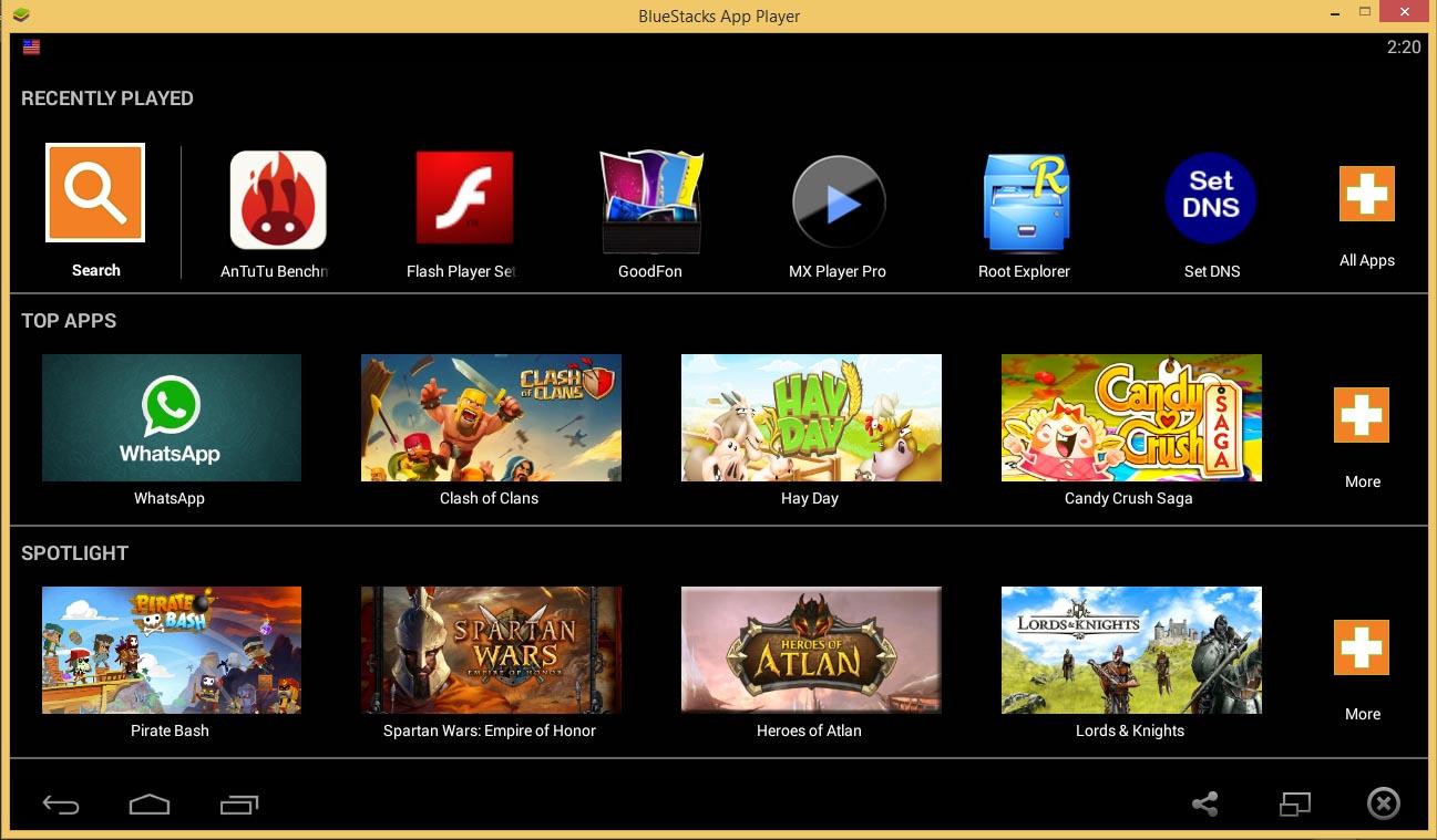 دانلود نرم افزار BlueStacks HD App Player برای اجرای برنامه های ...دانلود نرم افزار BlueStacks اجرای برنامه های اندروید در کامپیوتر