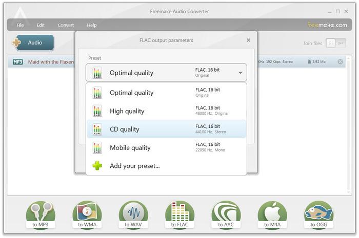 دانلود نرم افزار Freemake Audio Converter مبدل فایل های صوتی