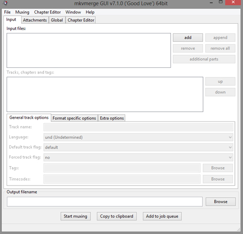 دانلود نرم افزار MKVToolnix اضافه کردن زیرنویس و صدا به فایل های MKV
