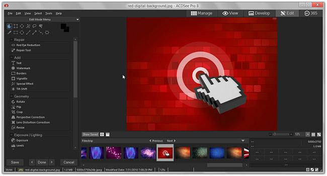 دانلود نرم افزار ACDSEE Pro 8 مدیریت حرفه ای تصاویر