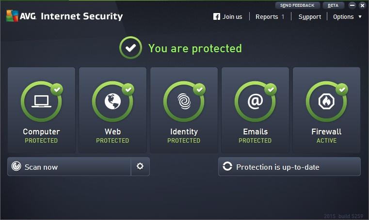 دانلود نرم افزار AVG Internet Security 2015 اینترنت سکوریتی