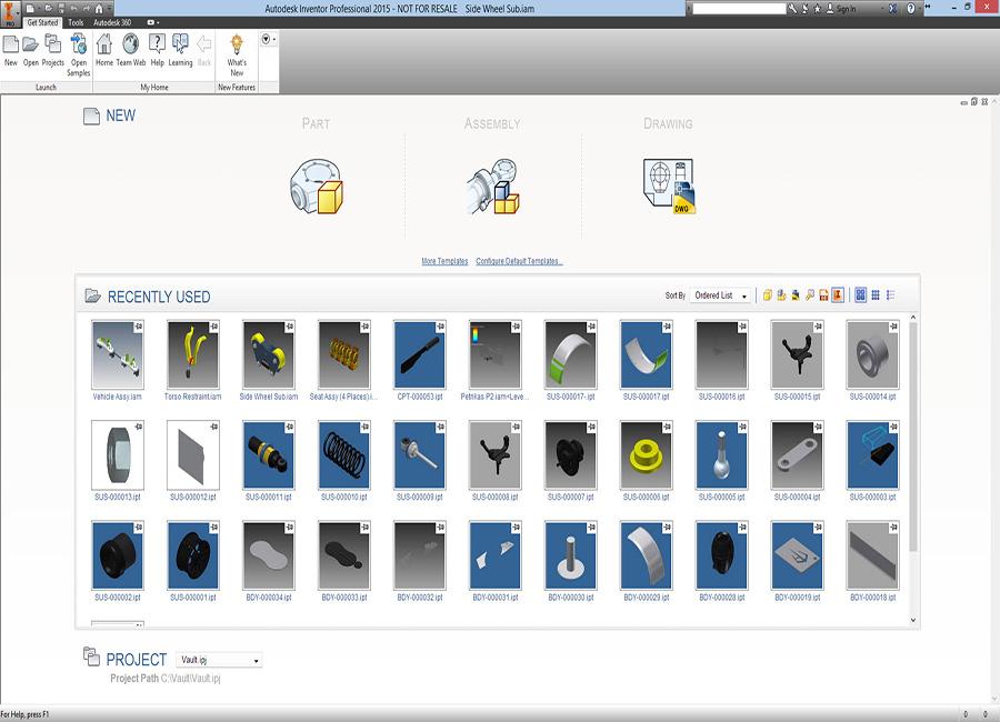 دانلود نرم افزار Autodesk Inventor 2015 Pro مدلسازی صنعتی