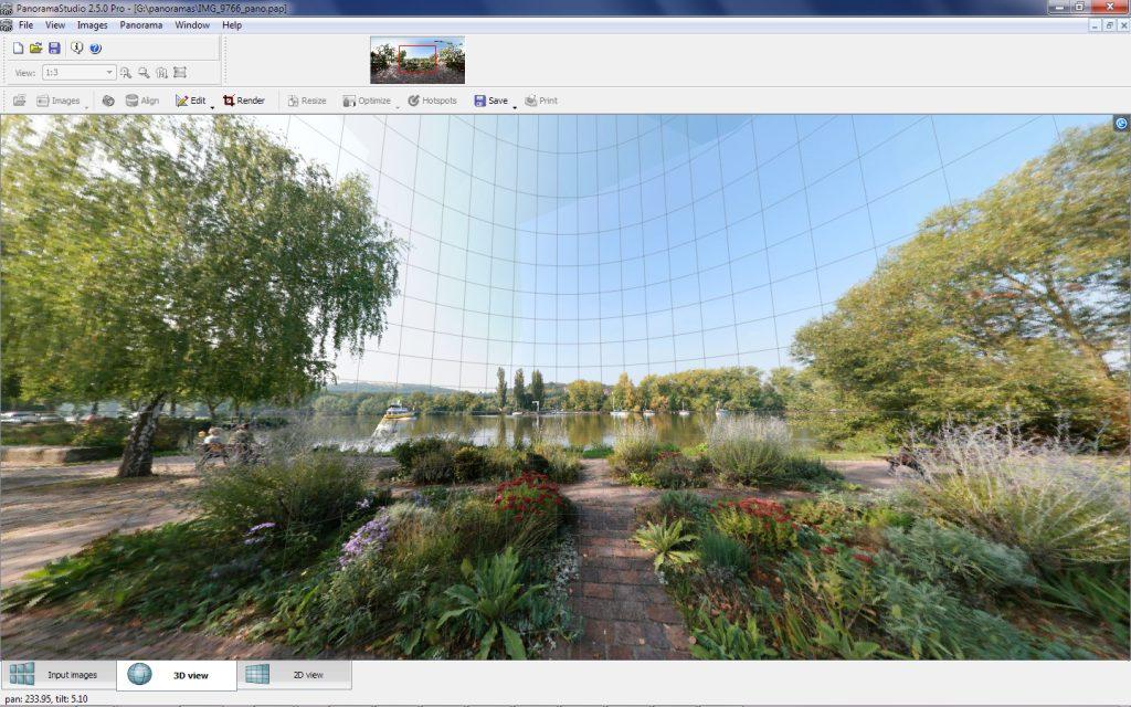 دانلود نرم افزار PanoramaStudio Pro ایجاد تصاویر پانوراما