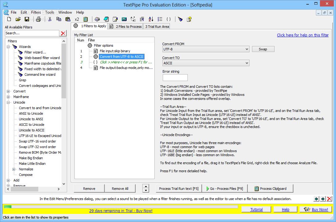 دانلود آخرین نسخه نرم افزار TextPipe ویرایشگر متون