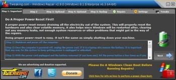 دانلود آخرین نسخه نرم افزار Windows Repair تعمیر ویندوز