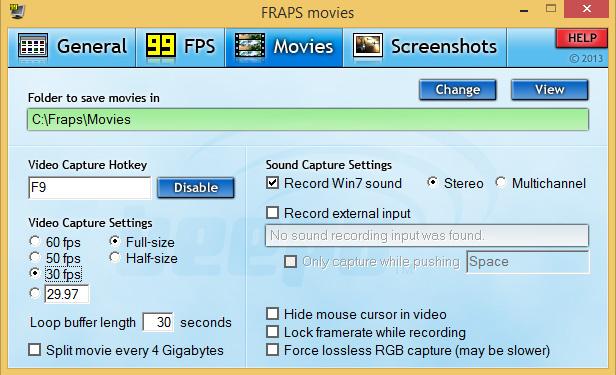 دانلود نرم افزار Fraps تصویربرداری از محیط بازی
