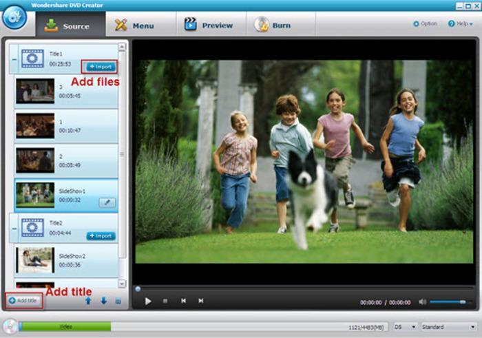 دانلود نرم افزار Wondershare DVD Creator رایت دی وی دی
