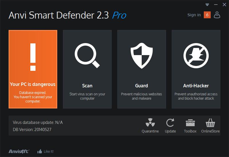 دانلود نرم افزار Anvi Smart Defender Pro مکمل آنتی ویروس