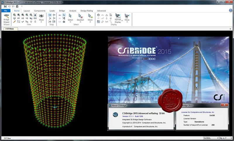 دانلود نرم افزار CSI Bridge 2015 آنالیز و طراحی پل