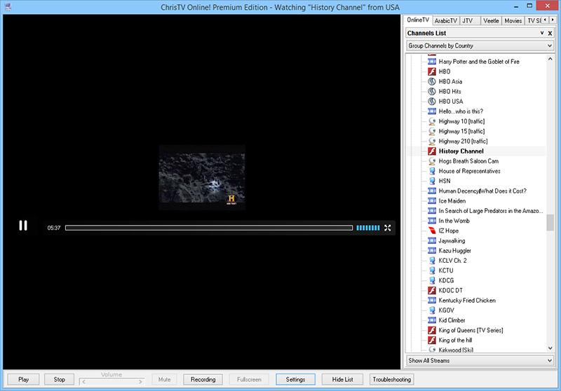 دانلود نرم افزار ChrisTV Online Premium Edition تلویزیون اینترنتی