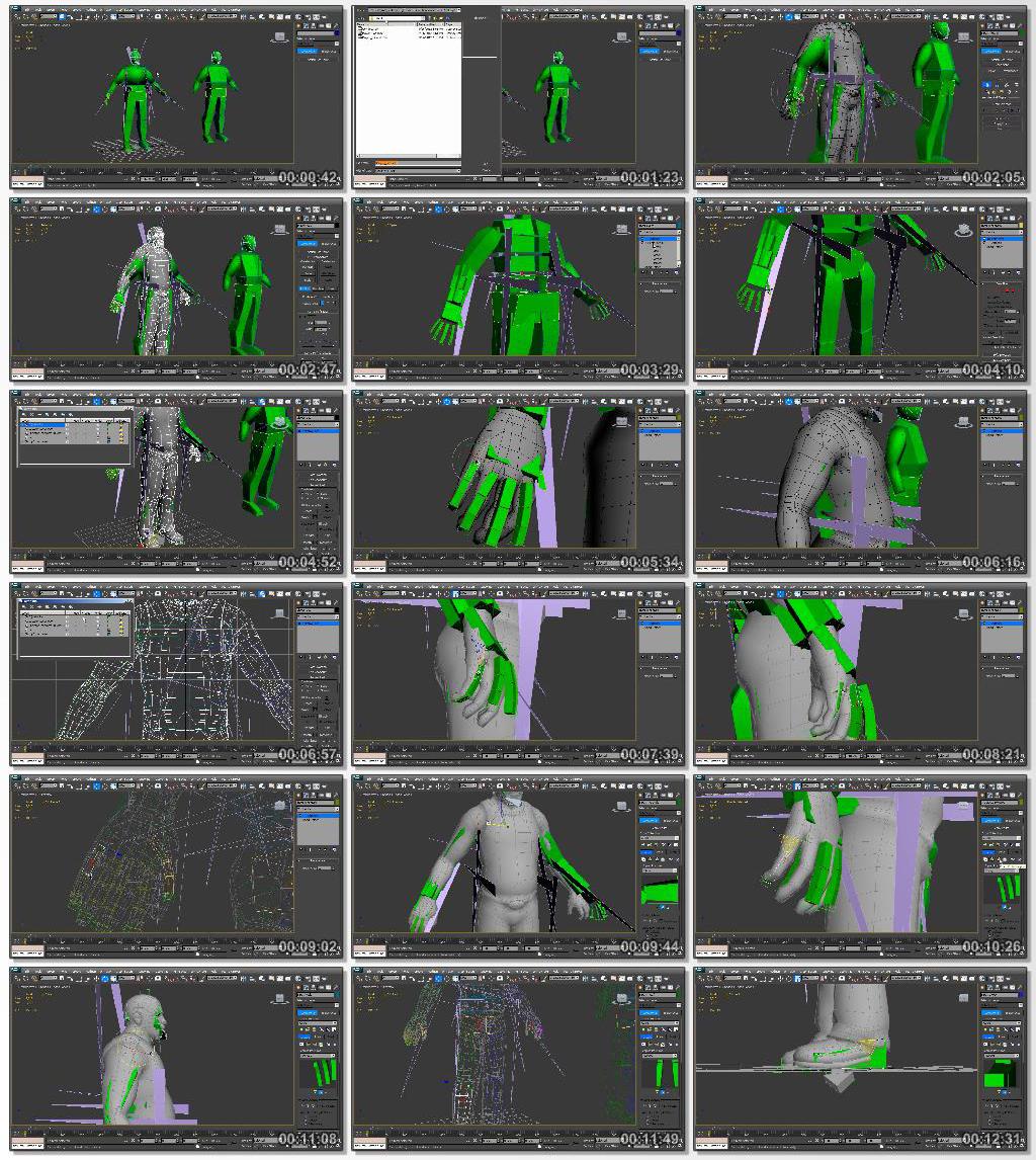 Digitaltutors.Custom.Characters.in.CryENGINE.www.Download.ir