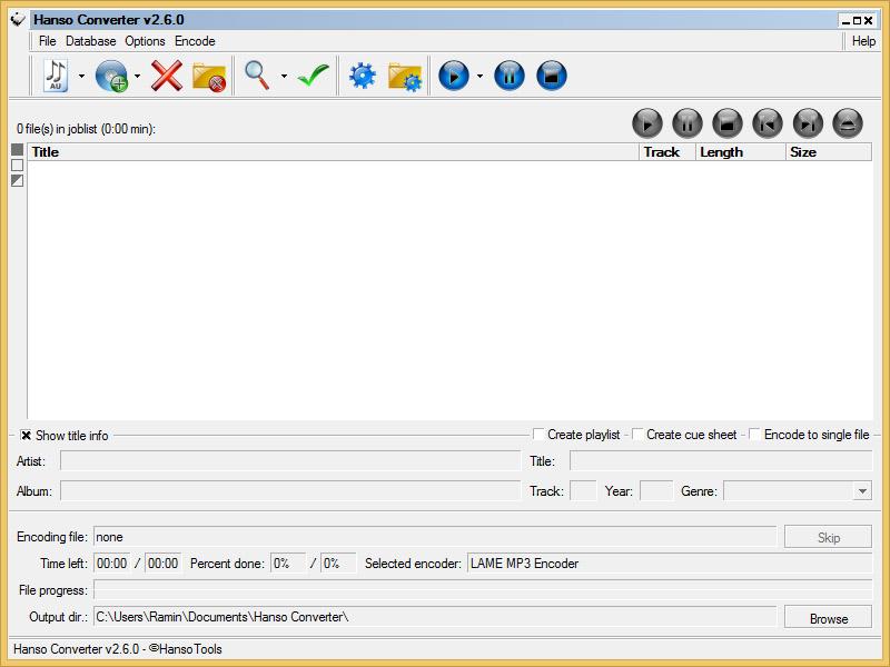 دانلود نرم افزار Hanso Converter ریپ و تبدیل فرمت سی دی