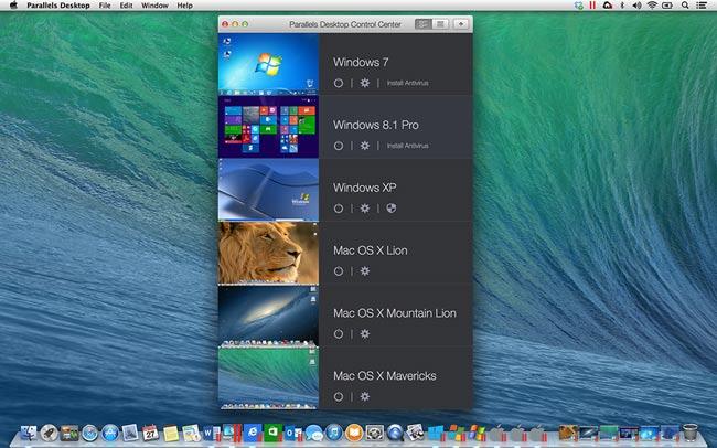 دانلود نرم افزار Parallels Desktop 10 شبیه ساز ویندوز در مکینتاش