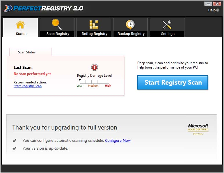 دانلود نرم افزار Raxco PerfectRegistry بهینه ساز رجیستری ویندوز