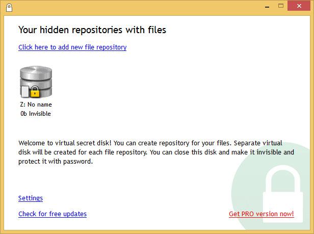 دانلود نرم افزار Secret Disk درایو مخفی در ویندوز