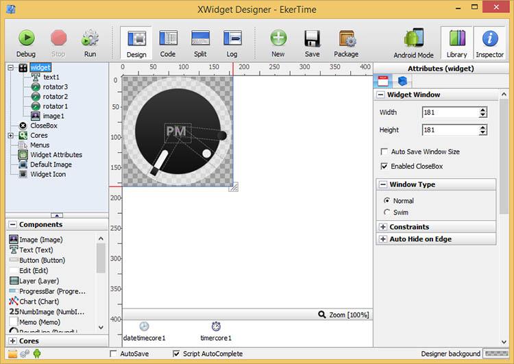 دانلود نرم افزار XWidget زیباساز محیط ویندوز