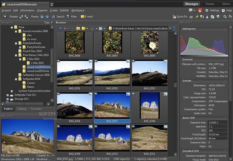 دانلود نرم افزار Zoner Photo Studio Pro مدیریت و ویرایش تصاویر