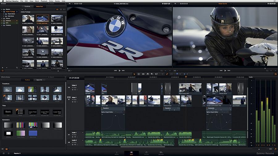 دانلود نرم افزار BlackMagic Design Davinci Resolve ویرایش تخصصی ویدیو