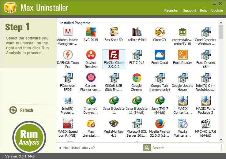 دانلود نرم افزار Max Uninstaller حذف برنامه های حذف شده