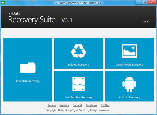 دانلود آخرین نسخه نرم افزار 7-Data Recovery Suite Home بازیابی اطلاعات