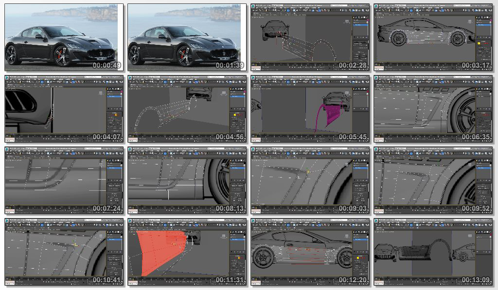Automotive Modeling in 3ds Max 2015