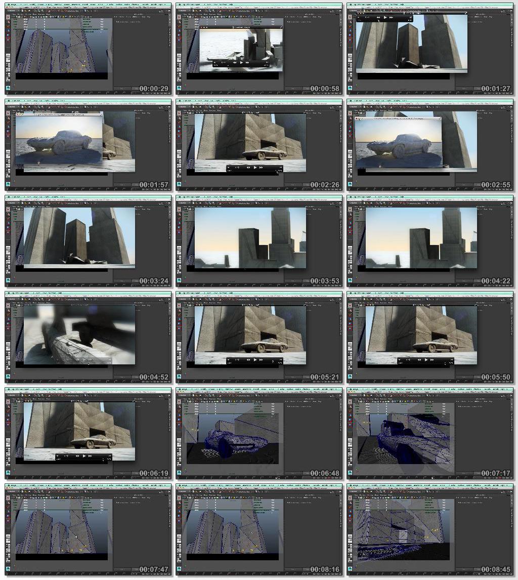 Digital.Tutors.Creating.an.Animated.Paper.Folding.Effect.in.Maya.www.Download.ir