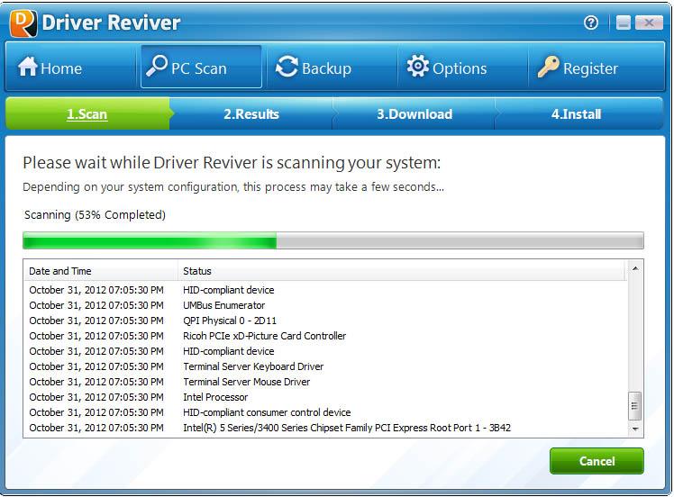 دانلود نرم افزار Driver Reviver به روز رسانی درایورها