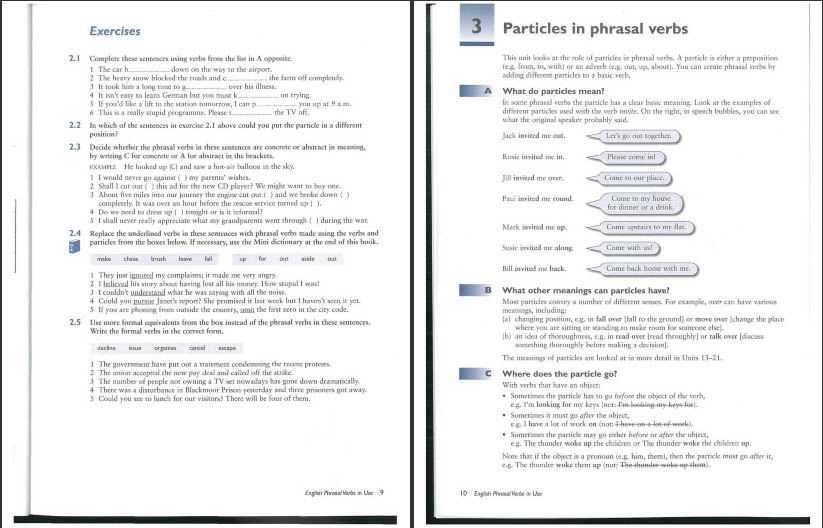 دانلود کتاب English Phrasal Verbs in Use آموزش افعال عبارتی