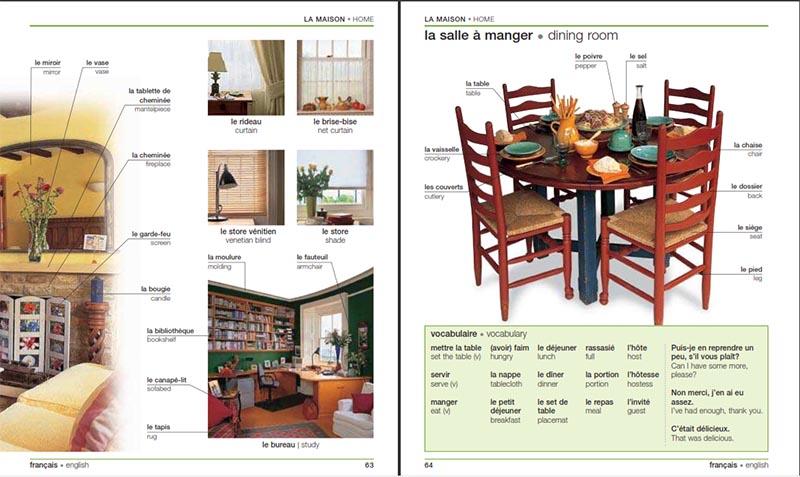 دانلود کتاب French English Bilingual Visual Dictionary دیکشنری تصویری