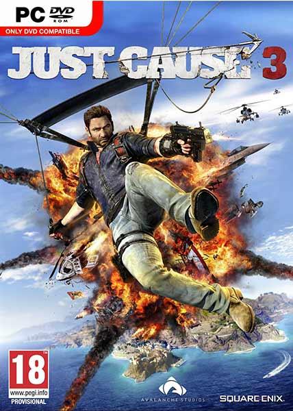 نتیجه تصویری برای دانلود بازی Just Cause 3 برای PC