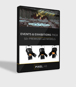 Pixel.Lab.events-and-exhibition-packFor.C4D.www.Download.ir.