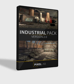 Pixel.Lab.industrial-pack2.For.C4D.www.Download.ir